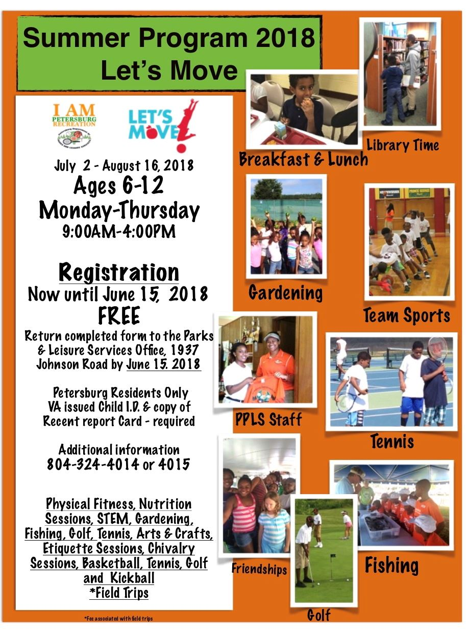 Recreation Summer Program 2018