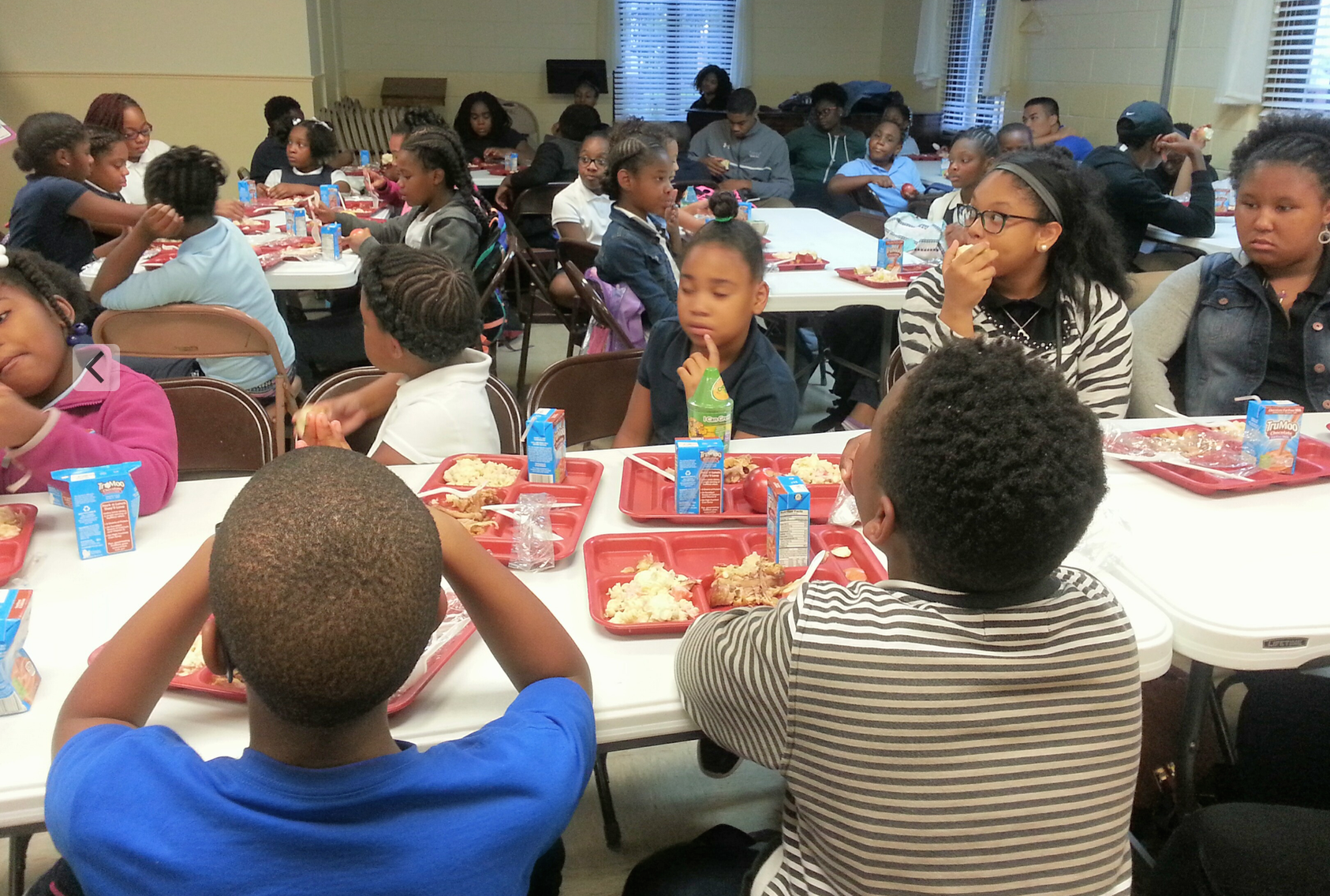 Petersburg Recreation in partnership with the Virginia Food Bank