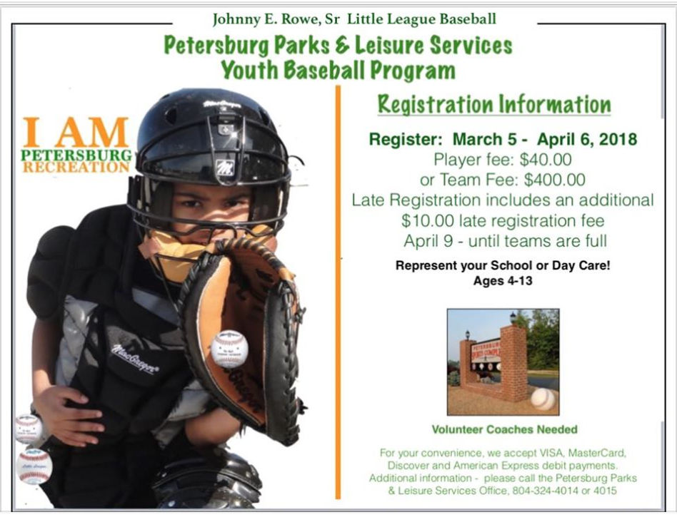 Petersburg Youth Baseball